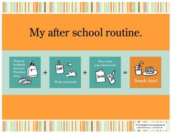 My after school routine. 