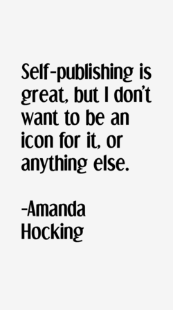 Self-publishing is 
