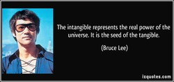 The intangible represents the real power of the 