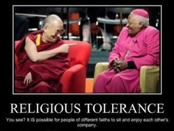 RELIGIOUS TOLERANCE 