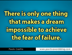 There is only one thing 