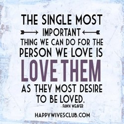 THE SINGLE MOST 