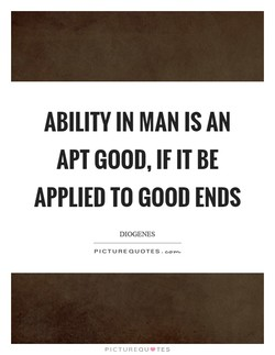 ABILITY IN MAN AN 