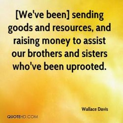 [We've been] sending 
