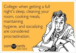 College: when getting a full 