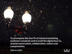 To Accompany the four Ps of classical marketing, 