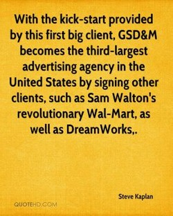 With the kick-start provided 