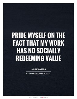 PRIDE MYSELF THE 