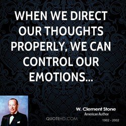 WHEN WE DIRECT