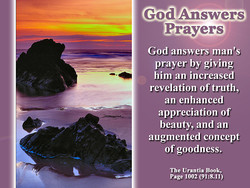 God Answers 