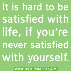 It is hard to be 