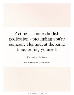 Actmg is a nice childish 