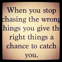 When you stop 