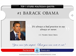 TOP 7 STUPID POLITICIAN QUOTES 