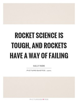 ROCKET SCIENCE IS 