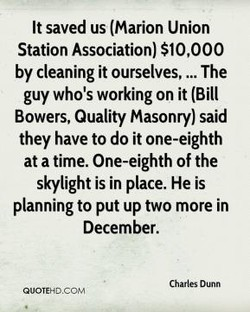 It saved us (Marion Union 