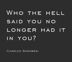 WHO THE HELL 