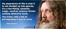 My experience of life is that it 