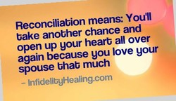 Reconciliabion means: YouTl 