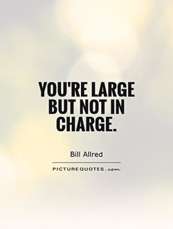 YOU'RE LARGE 