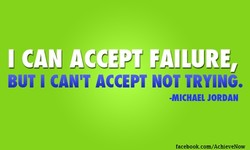 I CAN ACCE FAILURE, 