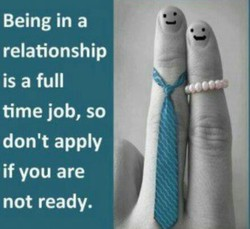 Being in a 