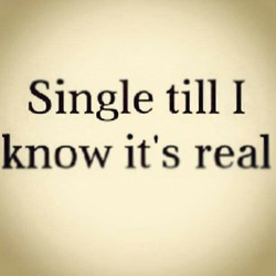 Single till I 