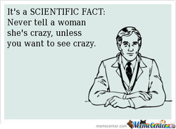 It's a SCIENTIFIC FACT: 