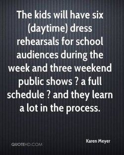 The kids will have six 