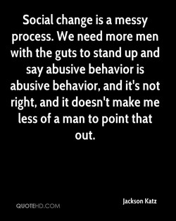 Social change is a messy 