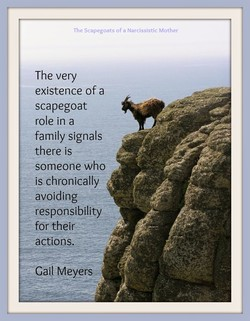 The Scapegoats of a Narcissistic Mother 