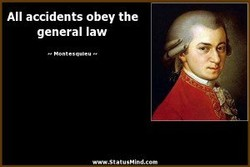 All accidents obey the 