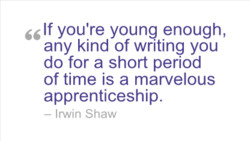 If you're young enough, 