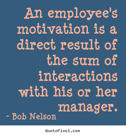 An employee's 