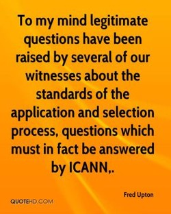 To my mind legitimate 