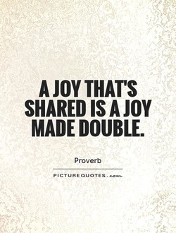 A JOY THAT'S 