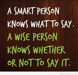 A SMART PERS0N 