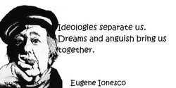 deologjes separate us. 