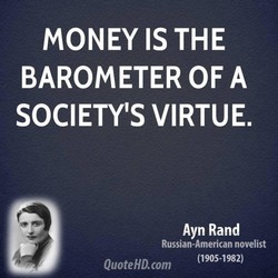 MONEY IS THE 