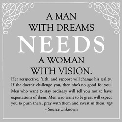 A MAN 