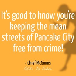 It's good to know you're 