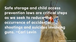 Safe storage and child access 
