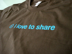 9//ove to share