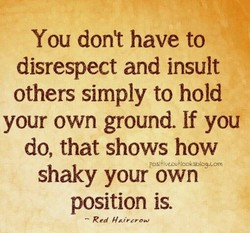 You dont have to 