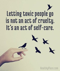 Letting t0Hic people go 