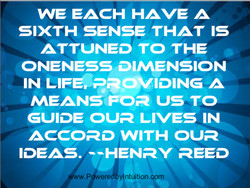 WE EACH HAVE A 