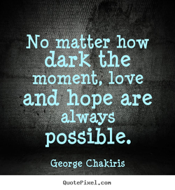 No maCter how 
