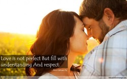 Love is not perfect But fill with 