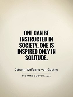 ONE CAN BE 