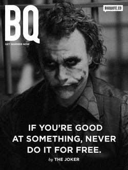 IF YOU'RE GOOD 
